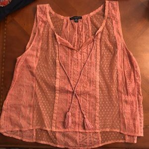 Sheer Tank Top from American Eagle